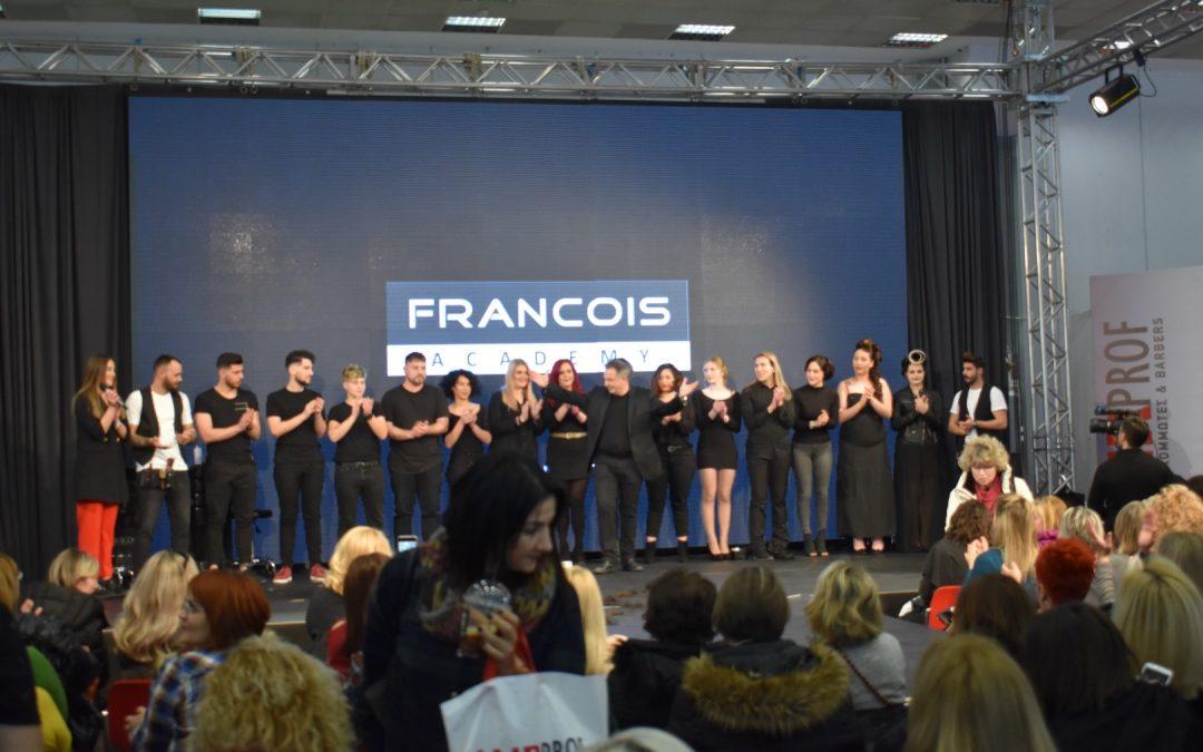 Η FRANCOIS Academy στην έκθεση HAIRPROF